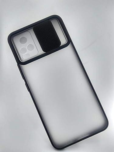 Cat Care Camera Lens Slide Protection Matte Back Cover for Vivo V20 Camera Covered Shutter Flexible Removable case Stylish Case Cover Black