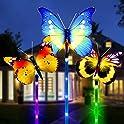 3-Pack Yimusen Color Changing Solar LED Garden Lights