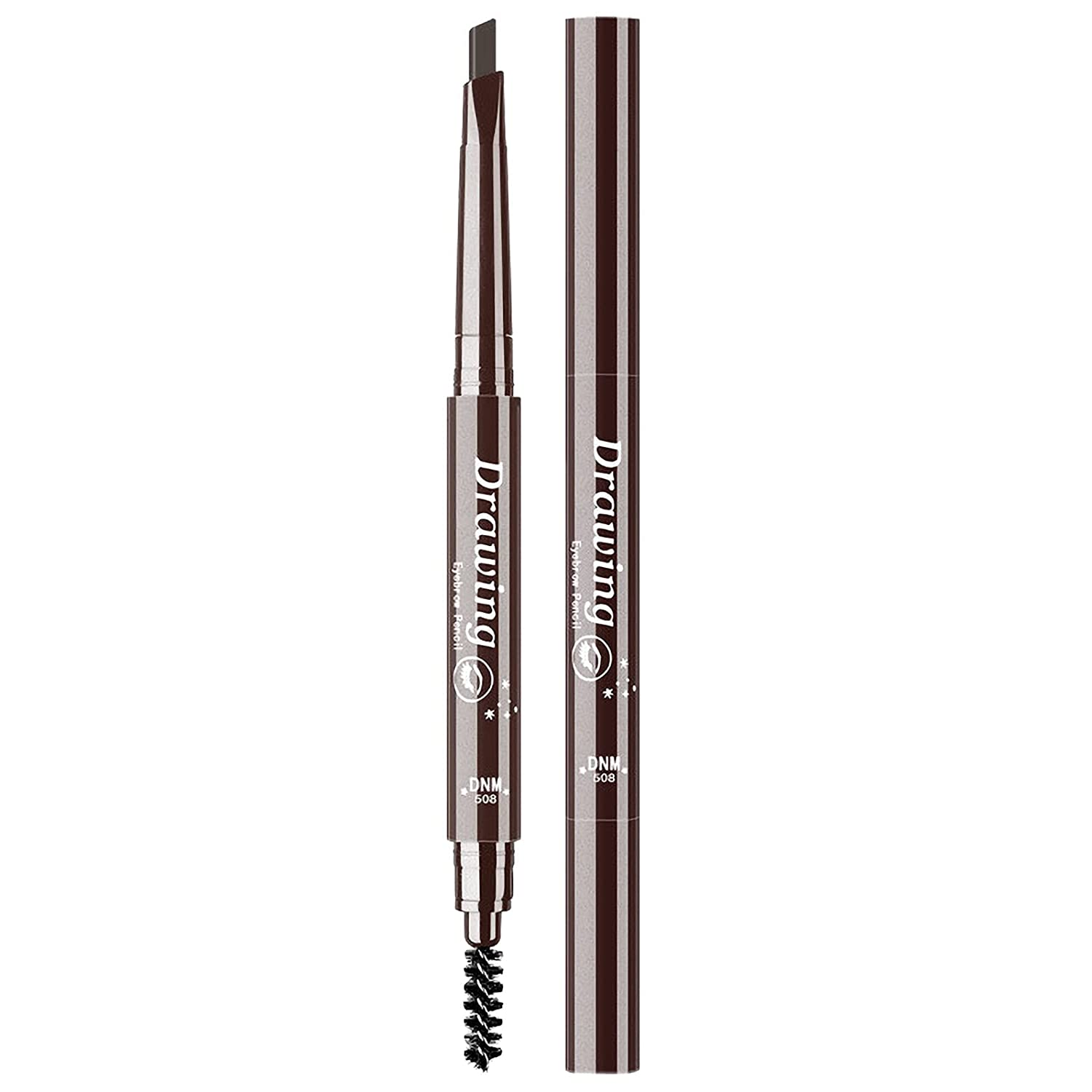 Double Now free shipping Headed Eyebrow Pencil Max 61% OFF Waterproof Makeup Brow C Definer 7