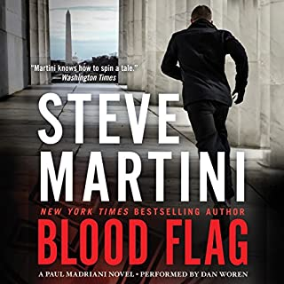 Blood Flag audiobook cover art