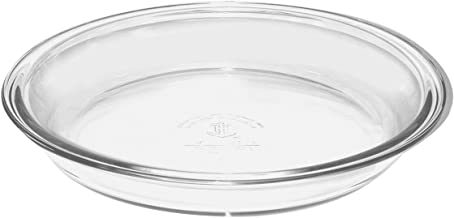 Anchor Hocking Anchor Hocking Glass Pie Plate, 9-Inch (Pack of 2)