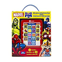 gifts for 5 year old boys: Superhero electronic me reader