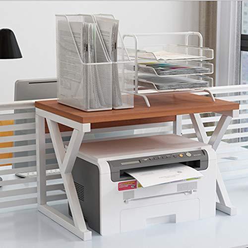 Robuuste printer, legplank voor bureau, opbergruimte in rek voor printers en kantoor, meerlaags rek