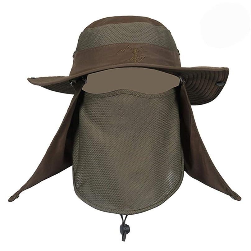 確実法律により知人ハット 帽子 ぼうし メッシュ 使用 紫外線 から 360度 ガード UV カット 日焼け 防止