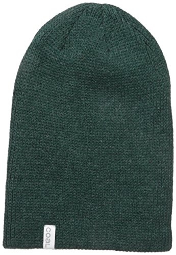 Coal The Frena Solid Beanie (Heather Forest Green)