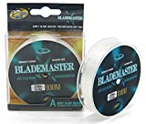 BPS Línea Hilo de Pesca Nylon Monofilamento (0.40 mm 16.98KG, 100 M) Color Transparente Multifilamento Material Súper Fuerte Pesca Profesional OZL-03806