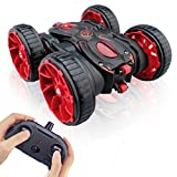 MaxTronic Remote Control Car,RC Cars Toy All Terrain Off Road 4WD Double Sided Running RC Stunt Car, Toy Cars 360° Rotation & Flips RC Crawler Birthday Gift for Girls & Boys Aged 4 5 6 7 8 9 10 11 12