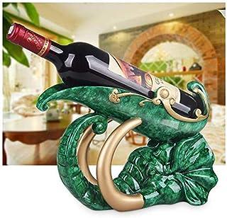 GaoF Casier à vin, Armoire à vin décoration résine Statue vin Maison Salon Bureau Armoire à vin décoration Accessoires, ém...