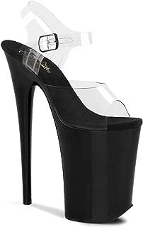 Pleaser Women's Infinity-908 Ankle-Strap Sandal