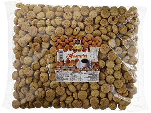 Amarettini, 4 x 1 kg, Gebäck aus Italien, leckeres Süßgebäck zum vernaschen mit einem Kaffee oder zum verzieren beim Backen