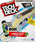 Tech Deck, Build-A-Park World Tour, Ramp Set with Signature Fingerboard (Styles Vary) for Ages 6 and Ted ACS BldaPkRp WrdTr M03 GML (Spin Master 6055721)