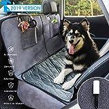 GLAMFIELDS Hundedecke für Auto rückbank Wasserdicht Waschbar autoschondecke Hund rücksitz