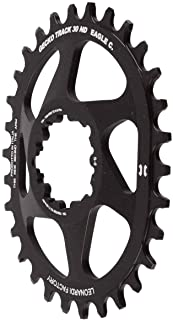 Leonardi Gecko Track SRAM Spider Less Elliptical 28-34 Tooth Chain Ring to fit SRAM GXP - 6mm Offset. 10/11/12 Chain Eagle Compatible