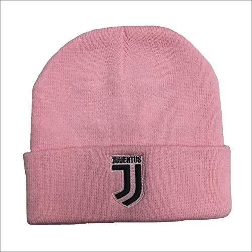 Juventus Cuffia Juve Rosa Donna Girl Ufficiale Berretto Cappello CUFJJROSA