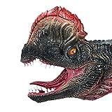 TOYMYTOY Testa di Dinosauro Guanti Figura Ruolo Giocattolo Maschera Dinosauro Tyrannosauru...