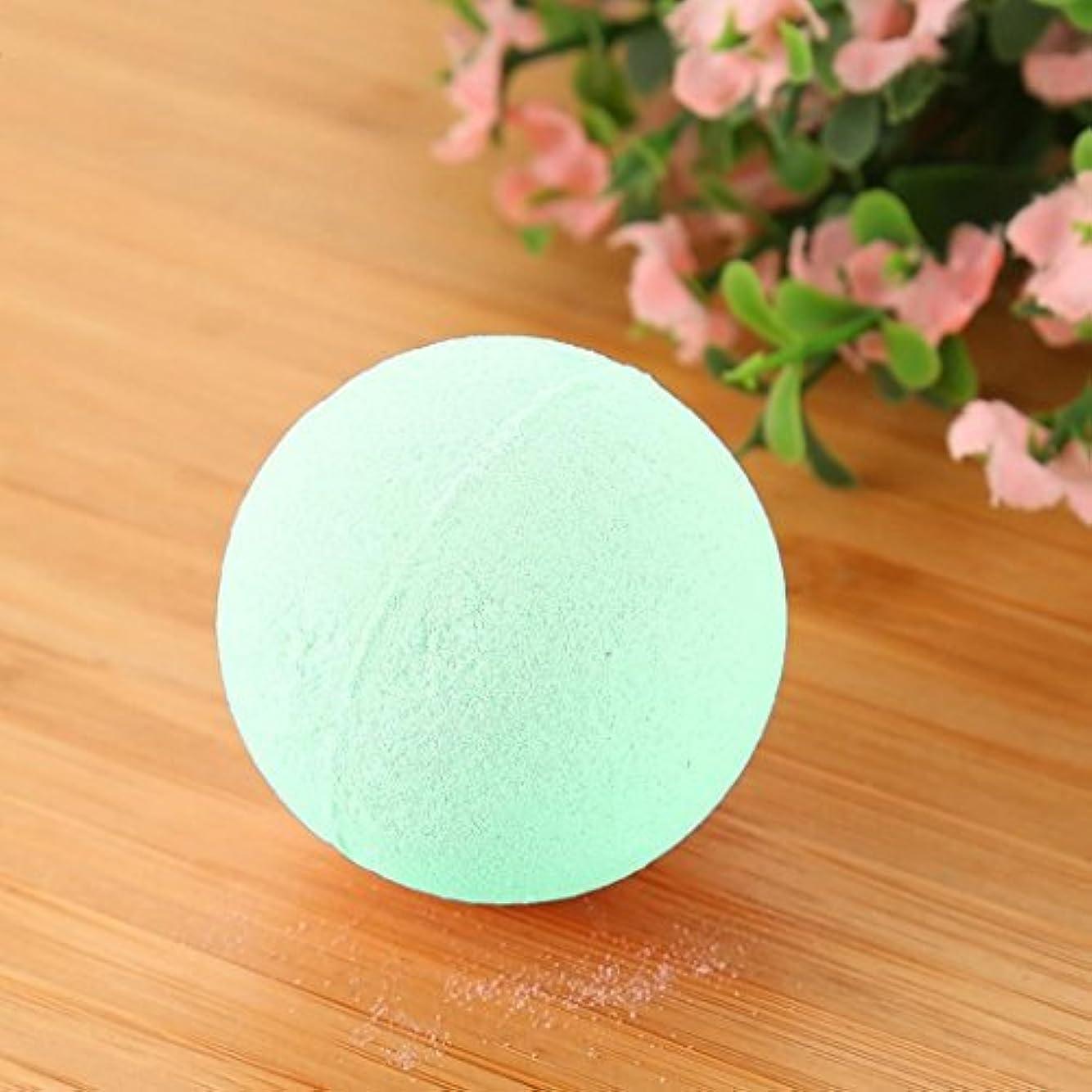 水素誘う骨髄バブル塩風呂の贈り物のためにボールをリラックスした女性の塩