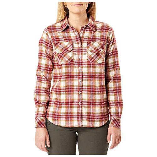 5.11 Tactical Women's Long Sleeve Hera Flannel Shirt,...