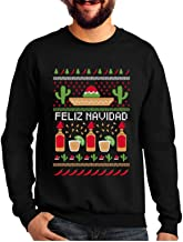 Best Feliz Navidad Mexican Ugly Christmas Sweater Funny Xmas Sweatshirt Review