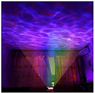Lightahead Ocean Master Romantic Relaxing Ocean Wave Light Projector, Multicolor