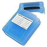 LogiLink UA0132 Scatola di Protezione per 2 Hard Disk da 2,5'