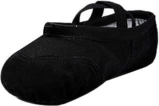 Fulision Women and Kids Elastic Canvas Wear Resistant Sole Ballet Shoes
