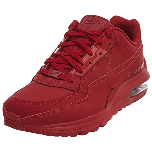 Nike Men's AIR MAX LTD 3 Casual Shoes (8.5, Gym Red/Gym Red)