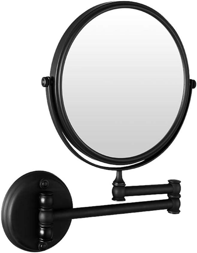 LUDSUY Bathroom accessoriesAll Copper Ranking TOP16 Beauty Black shop Mirror