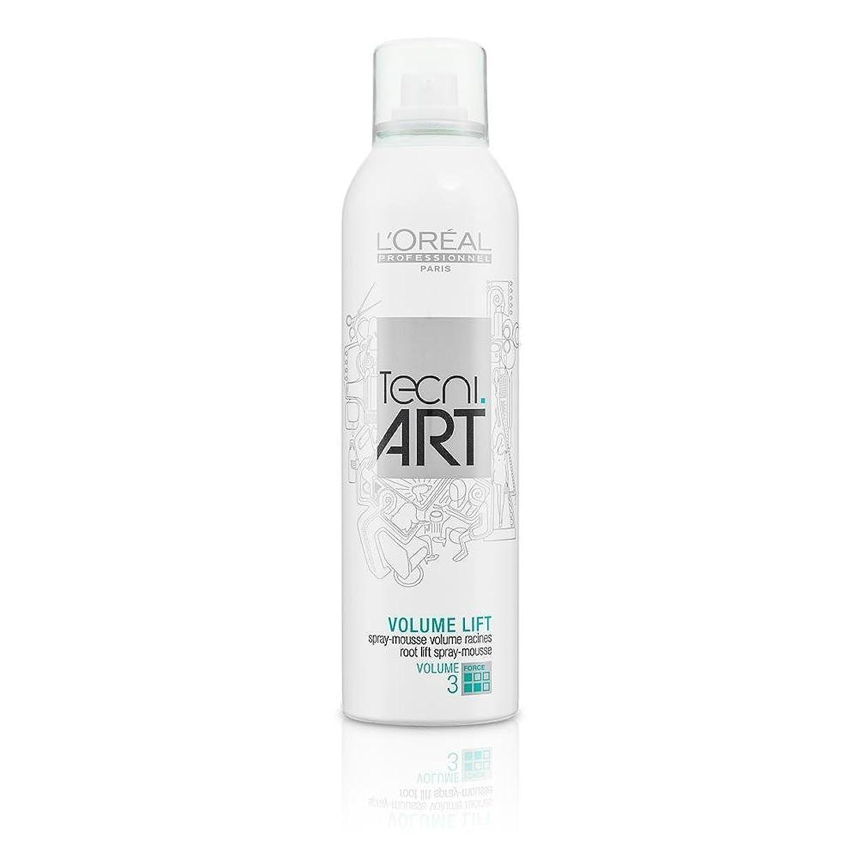 ウナギ神経講師L'Oreal Tecni Art Volume Lift - Root Lift Spray - Mousse 250 ml [並行輸入品]