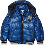 3 Pommes Boy's 3I41025 Jacket, Blue (Bleu Électrique), 8 Years
