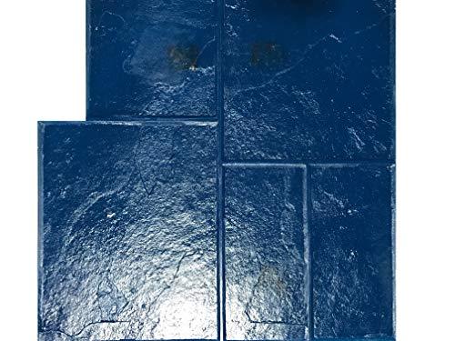 GlobMarble Stamped Concrete. Slate Stone Stamp SM 3003/2 Blue Ashlar Slate Concrete Stamp Mats