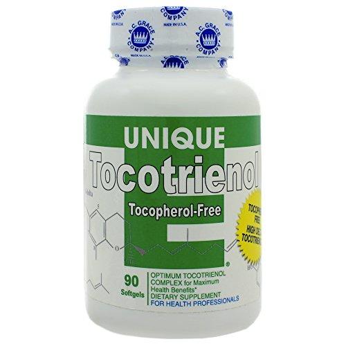 A C Grace Unique E Tocotrienols 125mg 90 Softgels