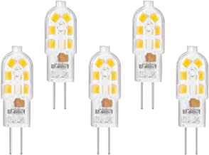 LAOYEBAOHE G4 LED Bulb AC/DC 12V JC G4 Bi Pin Bulb, Type G4 Halogen 10W-20W T3 Halogen Track Bulb Not Dimmable Replacement...