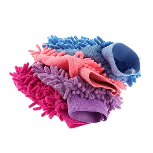 Microfiber Cleaning Handschoenen Mitt Household Car Anti Scratch wassen Cleaning Glove