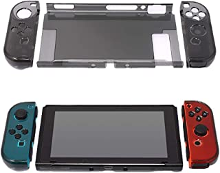Cover Case for Nintendo Switch, Protective Case for Nintendo Switch with Screen Protector for Nintendo Switch Crystal Clear