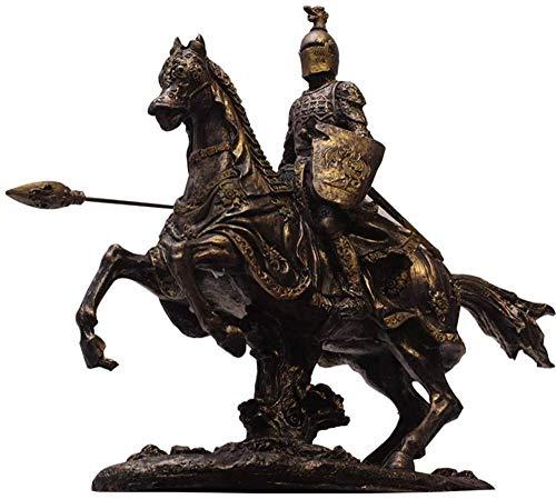 Escultura,Modelo De Armadura De Guerrero Medieval Estatua De Caballero Romano Antiguo Artesanía Bar Y Restaurante Decoración De Escritorio H24Cm