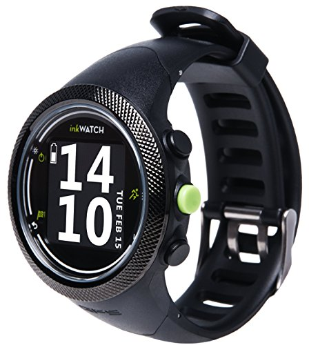 inkWATCH TRIA Plus - Run & Bike - GPS Sport Watch for Running and Cycling, with Virtual Trainer; Fitness Running Watch, Tracks Distance, Time and Pace, Interval Training