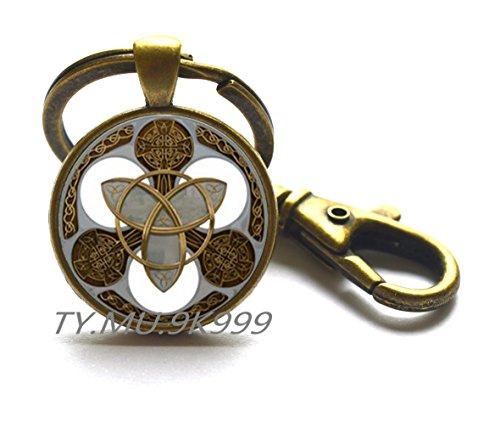 Y167 Schlüsselanhänger, keltischer Knoten, keltischer Schlüsselanhänger, keltischer Knoten-Anhänger