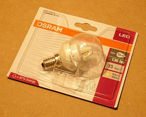 Osram star classic - Lampe LED star clp15 2w/827 e14