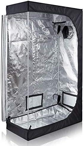 TopoLite 48 x24 x72 Grow Tent Room Reflective Mylar Indoor Garden Growing Room Hydroponic System product image