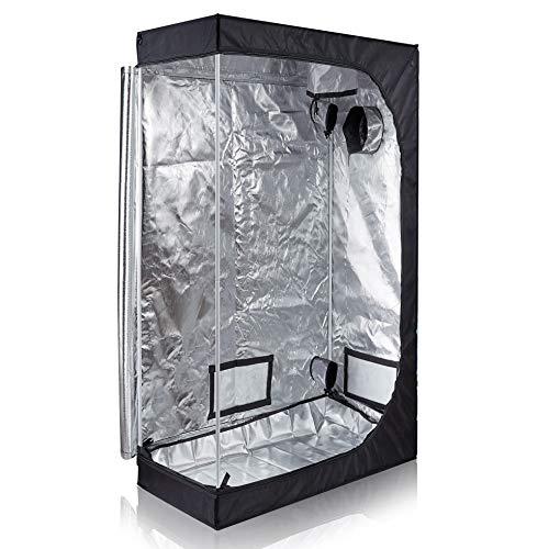 TopoLite 48'x24'x72' Grow Tent Room Reflective Mylar Indoor Garden Growing Room Hydroponic System