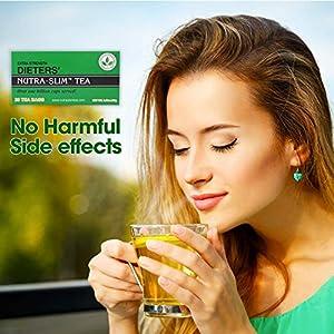 Triple Leaves Extra Strength Dieters Nutra Slim Tea, 20 Bags (3 Pack) - Herbal Cleanse Tea for Detox