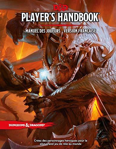 D&D 5 Ed Players Handbook : Manuel des Joueurs Version Franç