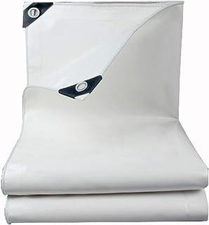 Rainproof cloth Bâche bâche Protection Solaire bâche auvent Tissu extérieur bâche rétractable Stade Tente Tissu Blanc épais