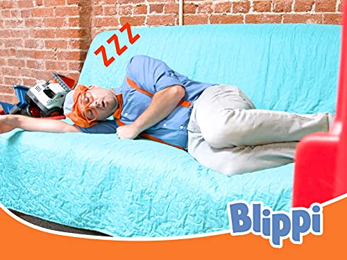 Blippi in the Amy's Playground - Learning Colours