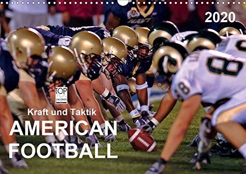Kraft und Taktik - American Football (Wandkalender 2020 DIN A3 quer): American Football, Teamsport der Extra-Klasse - beispiellose Kombination von ... (Monatskalender, 14 Seiten ) (CALVENDO Sport)