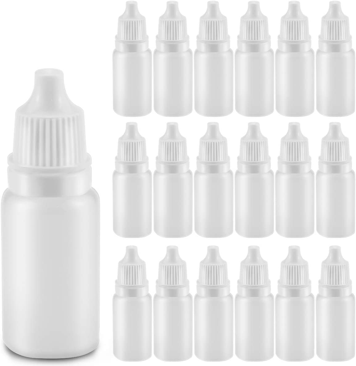 Twdrer 70PCS 15ml Plastic Empty Outlet SALE Year-end annual account Squeezable Liquid Dropper Bo Eye