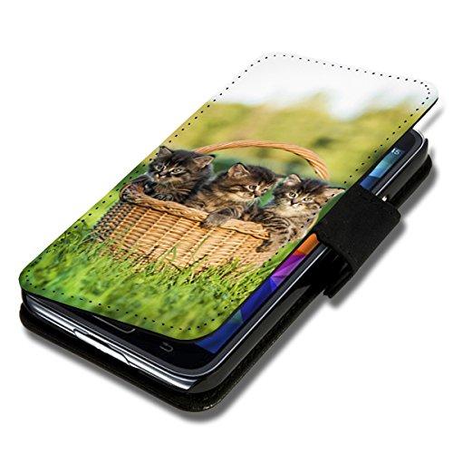 Book Style Flip Handy Tasche Hülle Schutz Hülle Schale Motiv Foto Etui für Huawei Y635 - Flip A38 Design11