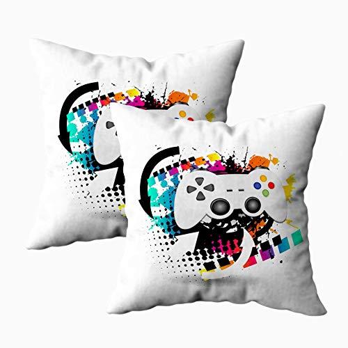 Fundas de Almohada Fundas de Almohada Impermeables de tamaño estándar Fundas con Cremallera Decorativas para sofá Cama para la Vida en el hogar Sofá Comfort, tamaño 18x18in