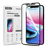 iPhone X / XS Screen Protector ubdyo - iPhone X / XS Tempered Glass HD Clear Screen Protector [3D Full Coverage] - Ultra Thin 9H Protective Film [2.5D Black Pet Soft Edge] for Apple iPhone X / XS /10