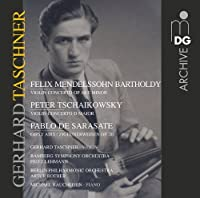 Violin Concertos by SAR MENDELSSOHN/TCHAIKOVSKY/DE (2013-04-23)